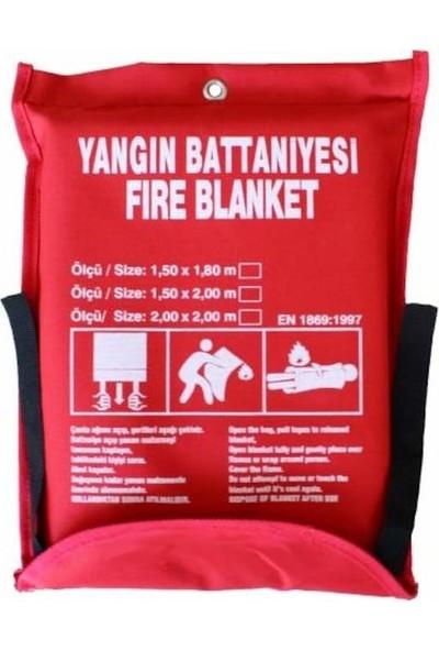 Fire Blanket Yangın Battaniyesi 150 x 180 cm
