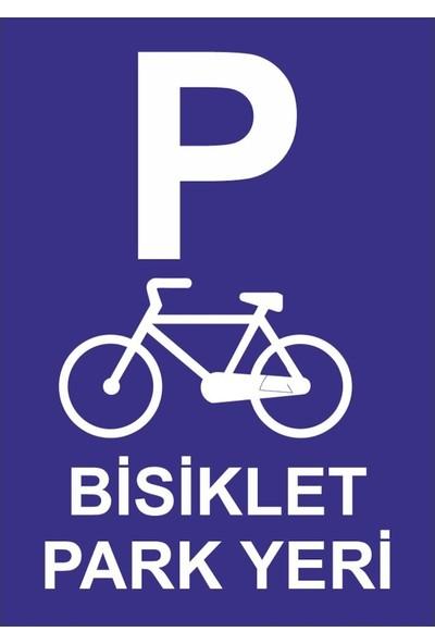 3Ekip Bisiklet Park Yeri Levhası 25 x 35 cm