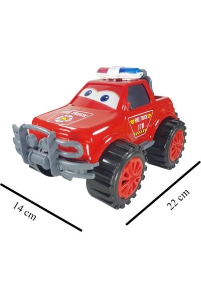 King Toys Itfaiye Arabası Jeep