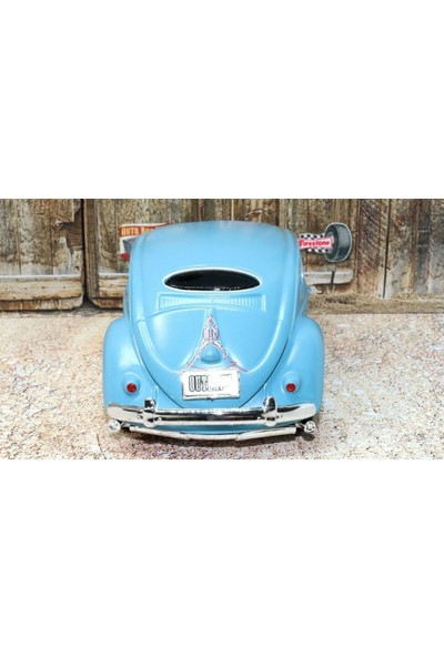 Maisto Design Volkswagen Beetle Mavi 1:24 Model Araba