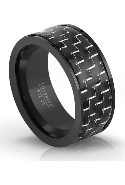 Lovering LVR512E Erkek Çelik Yüzük