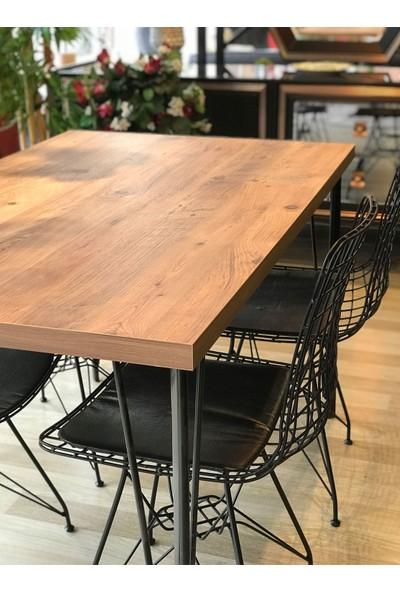Mutfak Masası + 4 Sandalye Atlantik 110-70