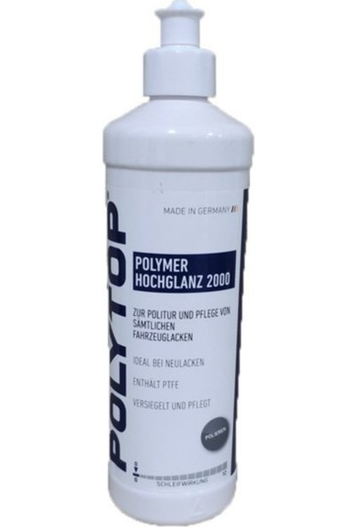 Polytop Hoch Glanz Polymer 2000 Boya Koruma Cilası 500ML