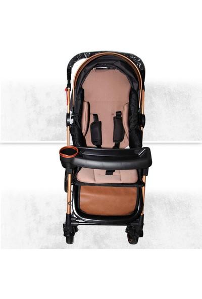 4 Baby Aplus Gold Çift Yönlü Bebek Arabası