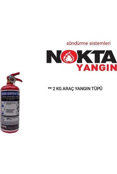 Nokta Yangın 2 kg Tozlu Yangın Tüpü