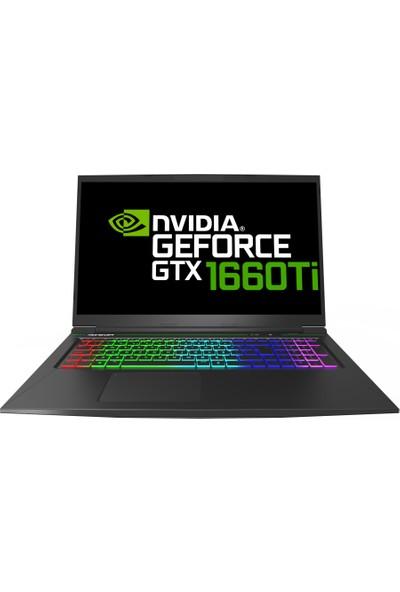 Monster Tulpar T7 V20.1 Intel Core i7 9750H 16GB 250GB SSD GTX1660Ti Freedos 17.3'' FHD Taşınabilir Bilgisayar