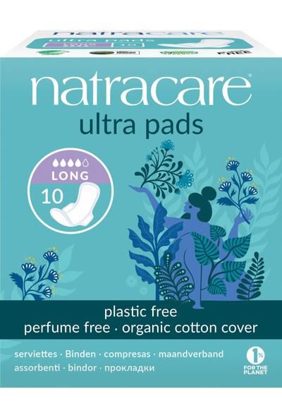 Natracare Ultra Kanatlı Ped Uzun 10'lu
