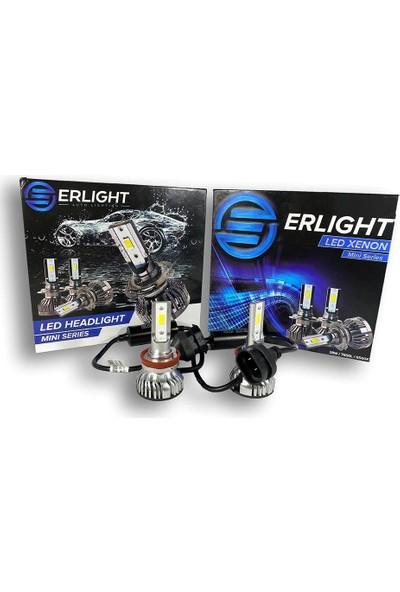 Eroğlu Erlight H3 Mini LED Xenon Yeni Nesil Şimşek Etkili Beyaz LED Far