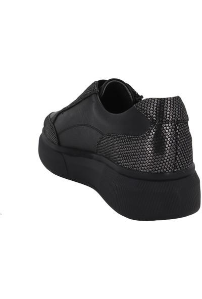 İloz Siyah Kadın Günlük Ayakkabı 592032