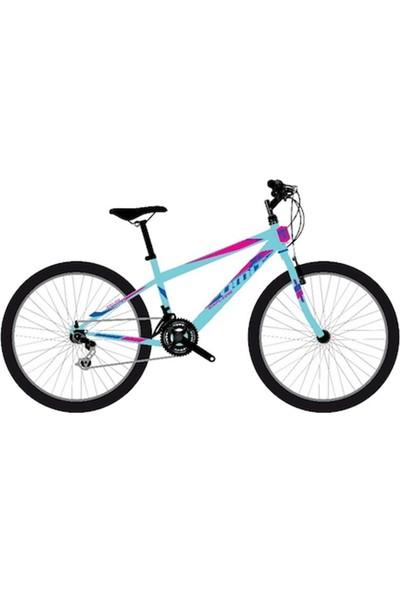 2634 26 Explorer M-Mtb-V-21 Bayan Ümit Bisiklet (Antrasit-Pembe)