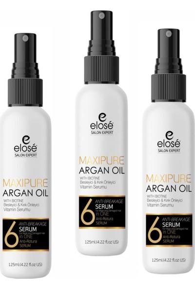 Elose Argan Saç Serumu 125 ml X 3'lü