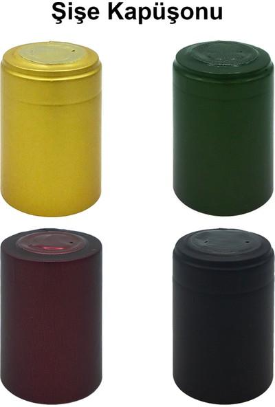 Afracam Dorika Şeffaf 250 ml Kilitli Kapaklı ve Kapüşonlu Cam Şişe