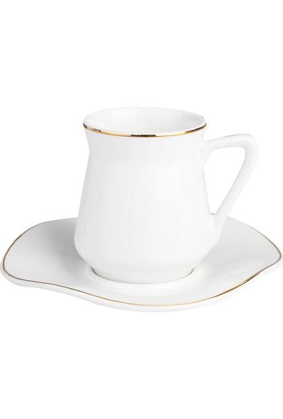 Emsan Güzelce 6 Kişilik Porselen Kahve Fincan Takımı