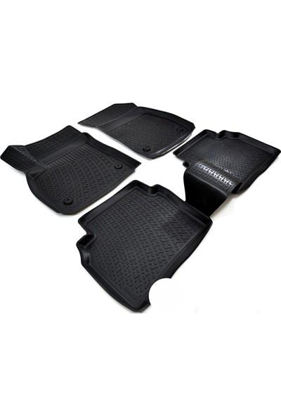 Reyyzen Ford Focus 2 Paspas 3D Oto Paspas Siyah Havuzlu 2005-2010