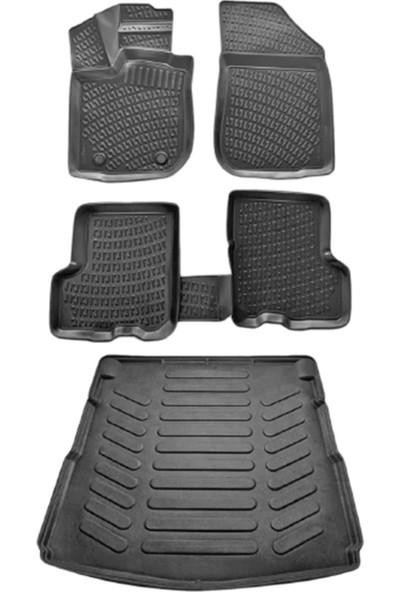 Rizline Volkswagen Caddy Paspas+Bagaj Havuzu Life Combi 2008-2011