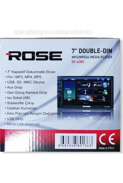 Rose DC-6300 Bt 7 Inç Double Gece Görüş Kamaerası Hediyeli