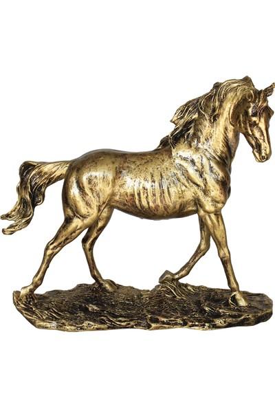 Ahşapdede Koşan At Altın