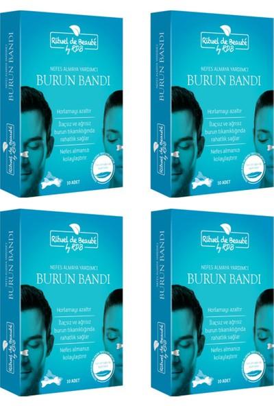 Rituel De Beaute Horlama Önleyici Burun Bandı 10'lu x 4