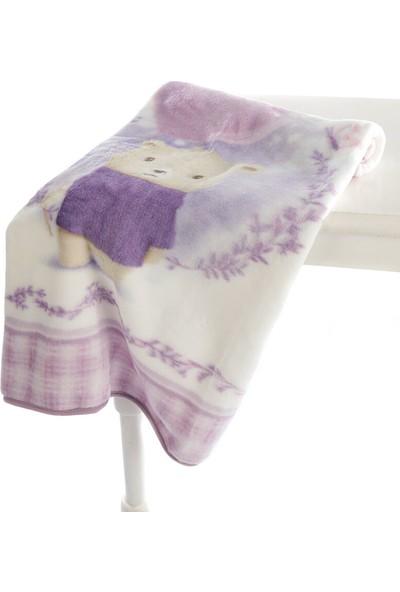 Özdilek - Purple Lover Battaniyeli Bebek Nevresim Takımı