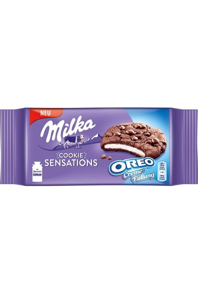 Milka Cookie Sensations Oreo 156gr