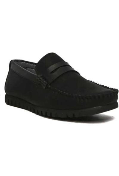 Ada Trend Siyah Erkek Günlük Loafer Ayakkabı