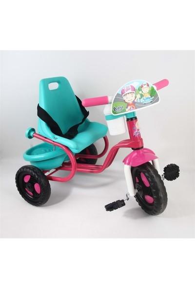 Babyhope 101 Prens Pembe-Turkuaz 3 Tekerlekli Bisiklet
