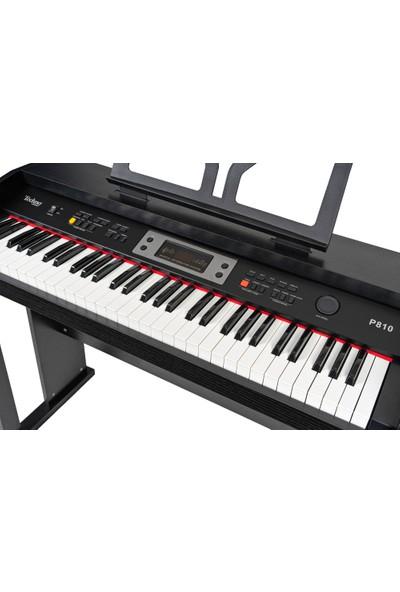 Techno By The Tool P810BK Dijital Çocuk Piyanosu (Siyah)