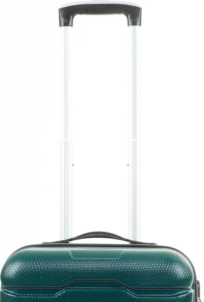 Mçs Lüx Abs Kabin Boy Valiz Koyu Yeşil - V302