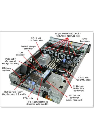 Lenovo ThinkSystem SR650 4210R 10C 1x32GB 2GB 2 x 750W XCC ENT 2U Server 7X06A0JYEA