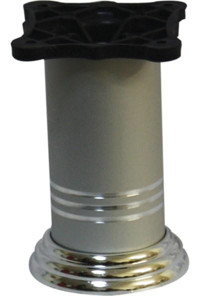 Çağrı 42x10 Alüminyum Baza Ayağı Inox 4 'lü