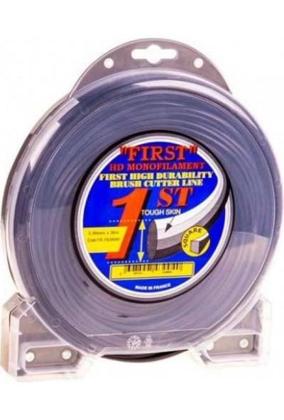 First Misina 3.3 mm 36 Metre Siyah 4 Köşe