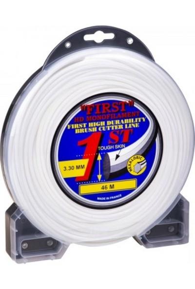 First Misina 3.3 mm 46 Metre 6 Köşe Beyaz