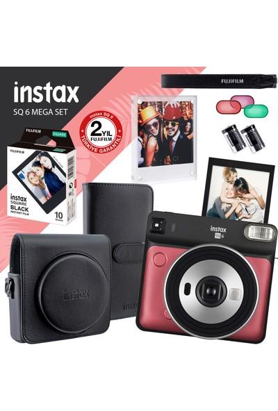 Fujifilm Instax Sq 6 Ruby Red Fotoğraf Makinesi ve Set