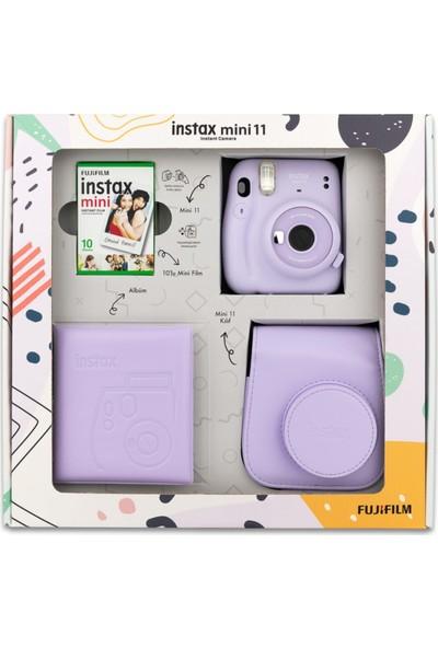 Fujifilm Instax Mini 11 Kare Albümlü Lila Box