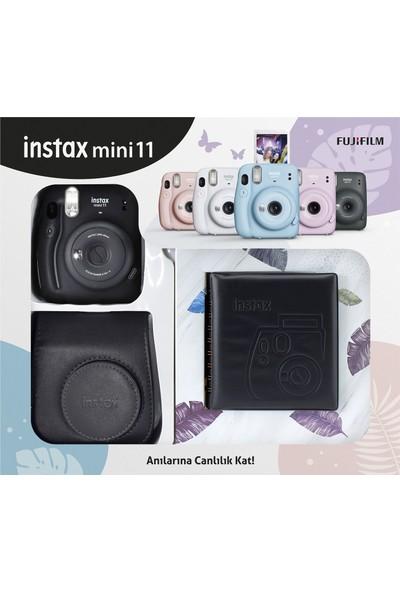 Fujifilm Instax Mini 11 Kare Albümlü Siyah Kit