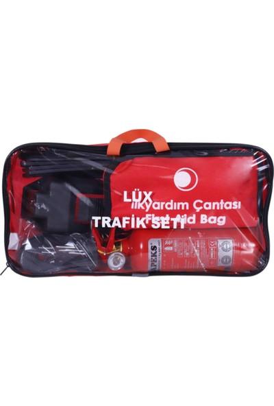 Hilal Shops Tüvtürk Uyumlu Çantalı Lüx Trafik Seti
