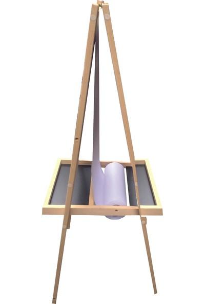 Decolfin Çift Taraflı Ayaklı Ahşap Yazı Tahtası No:19 60 x 118 cm + Manyetik