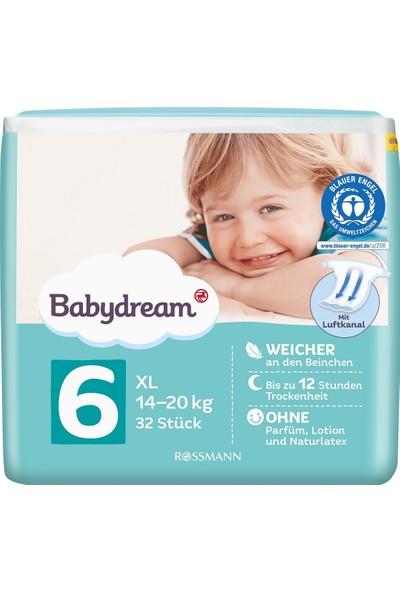 Babydream Bebek Bezi, 6 Beden, 32'li