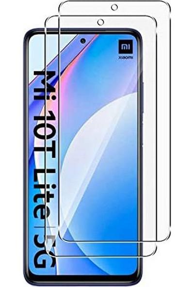 Case 4U Xiaomi Mi 10T Lite Cam Ekran Koruyucu Temperli Şeffaf