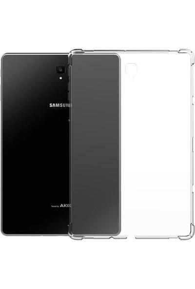 Turotto Samsung Galaxy Tab A7 2020 T500 T505 T507 10.4 inç Darbe Emici Özellikli Süper GARD Silikon
