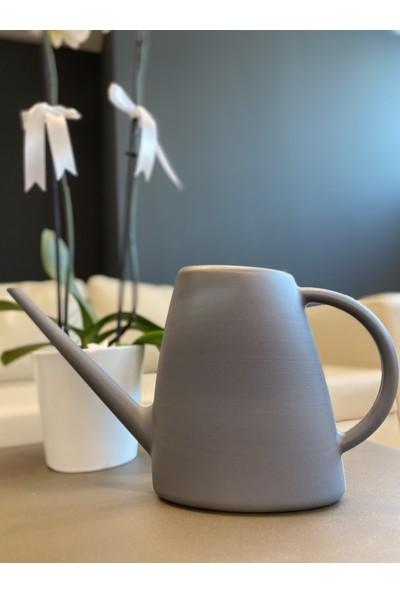 ElitePlas Sulak Plastik Çiçek Sulama Kabı 1,7 Litre Antrasit Renk