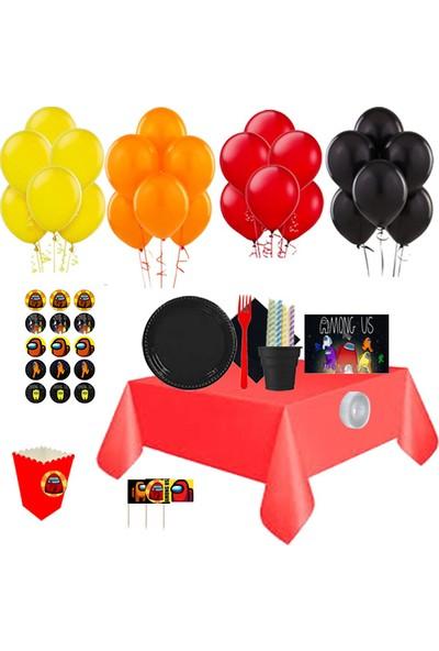 Partylandtr Among Us 16 Kişilik Doğum Günü Parti Seti