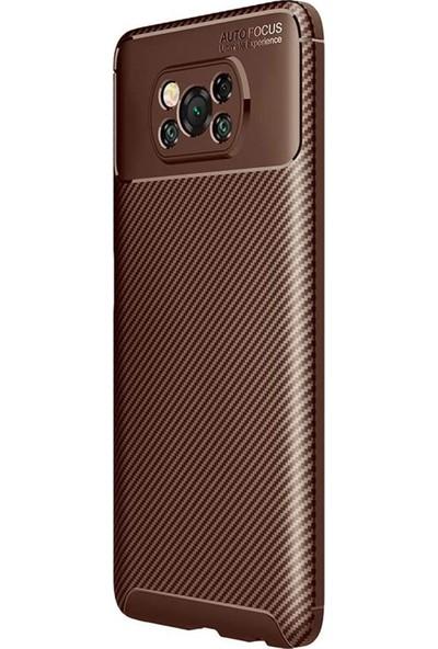 Vendas Xiaomi Poco X3 Deep Dizayn Auto Focus Tasarımlı Silikon Kılıf