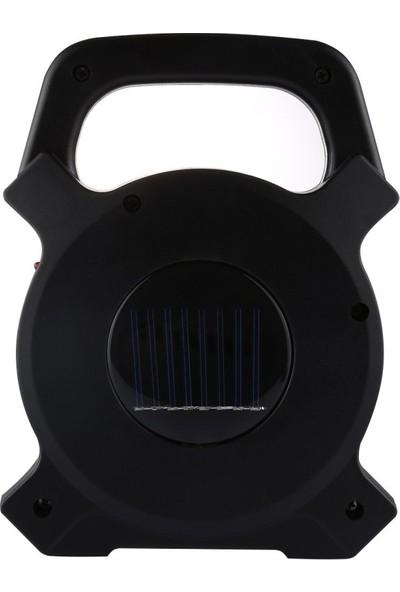 Powerlux 2 Konumlu Led Şarjlı Güneş Enerjili El Feneri