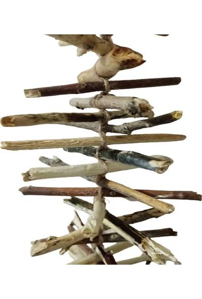 Piramigo Pagan Iskandinav Tarzı Yağmur Zinciri Sessiz Rüzgar Çanı El Yapımı Valhalla Merdiveni Viking Garland
