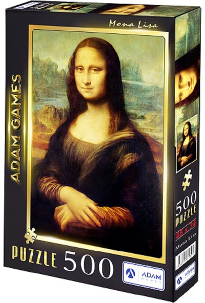 Adam Games Mona Lisa 500 Parça Puzzle