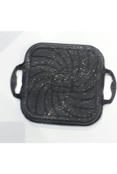 DRT Kare Döküm Tava Granit Kaplama 21 cm * 21 cm