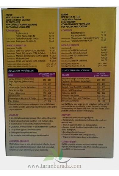 Dr. Tarsa 10-10-40 (1 Kg) Dengeli Npk Gübre Favor