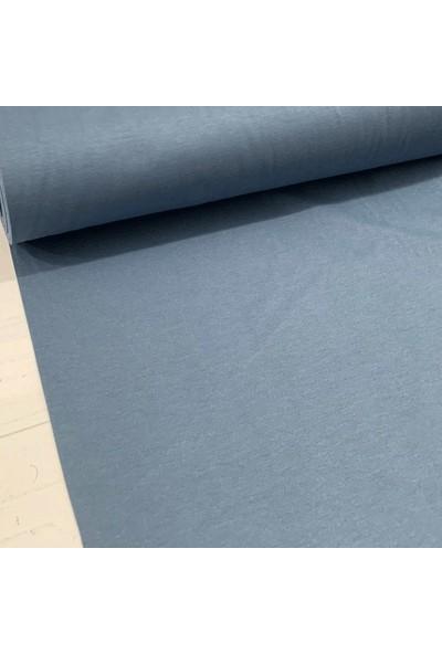 Kumaş Home Dertsiz Leke Tutmaz Su Itici Döşemelik Duck Keten Eni 180 cm Indigo Mavi