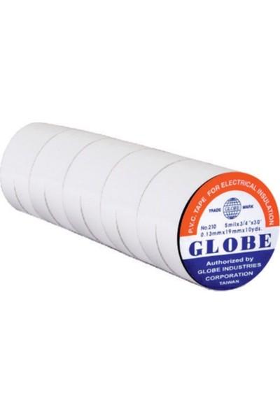 Globe Izole Elektrik Bandı 10'lu (Beyaz)